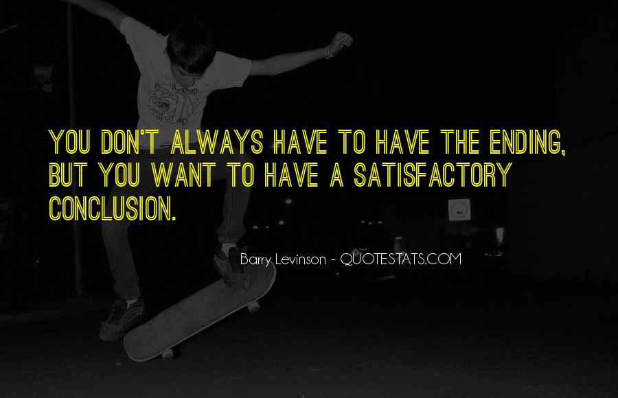 Barry Levinson Quotes #1241797