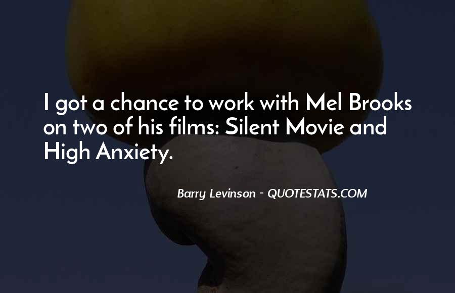 Barry Levinson Quotes #1448676
