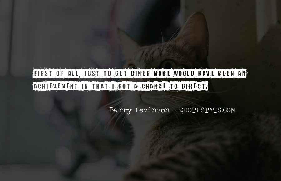 Barry Levinson Quotes #217538