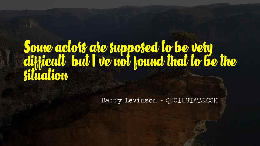 Barry Levinson Quotes #292429
