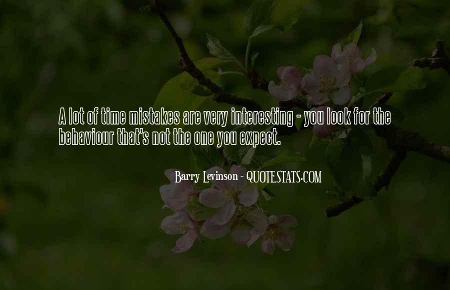 Barry Levinson Quotes #608206