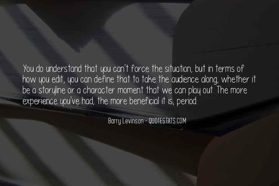 Barry Levinson Quotes #655718
