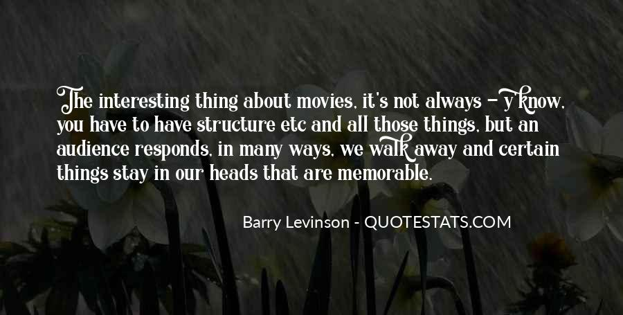 Barry Levinson Quotes #773234