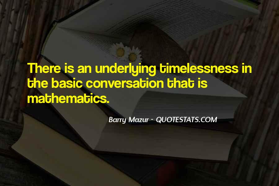 Barry Mazur Quotes #528065