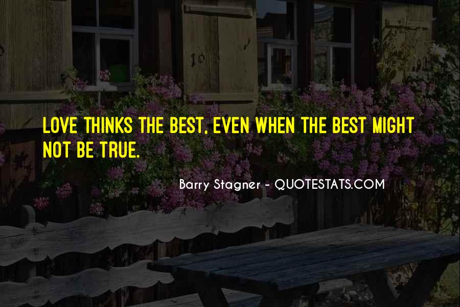 Barry Stagner Quotes #984266