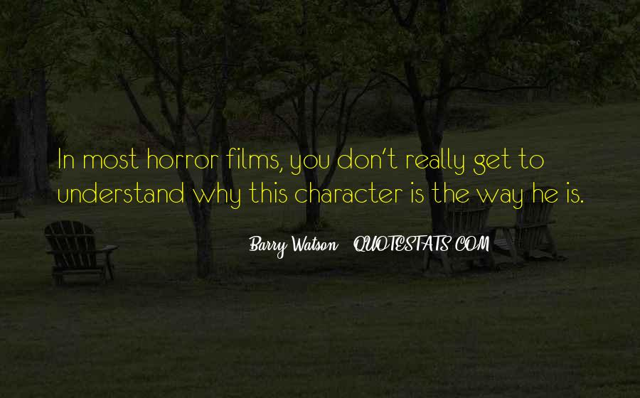 Barry Watson Quotes #401584
