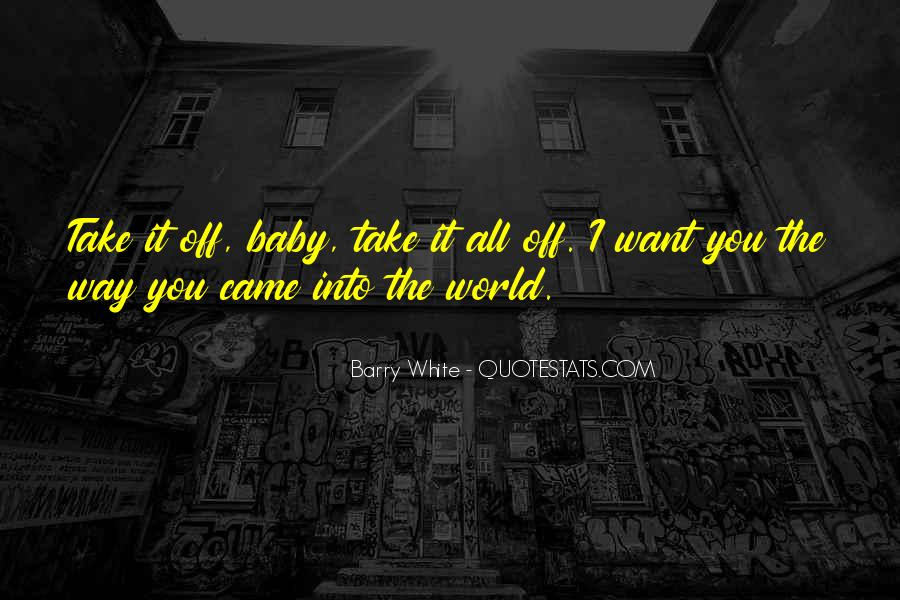 Barry White Quotes #1379152