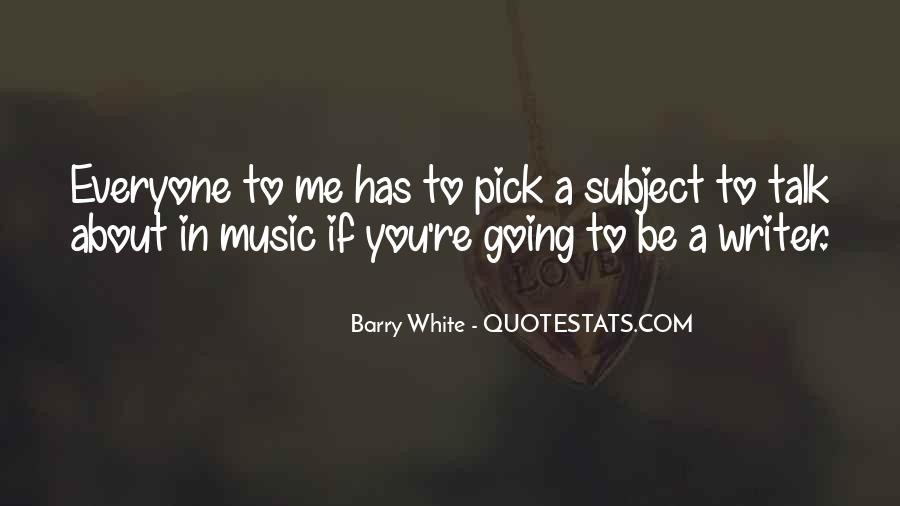 Barry White Quotes #1732615
