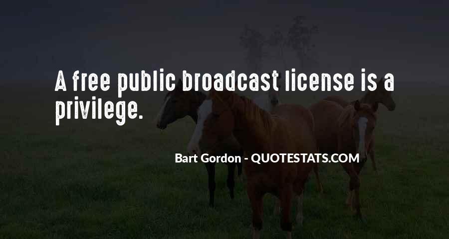 Bart Gordon Quotes #1519344