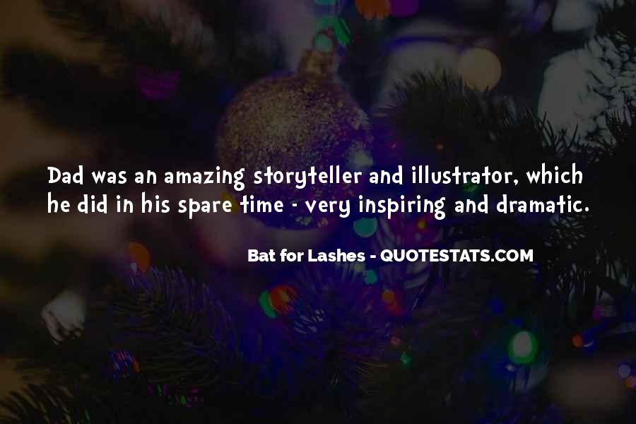 Bat For Lashes Quotes #1028104