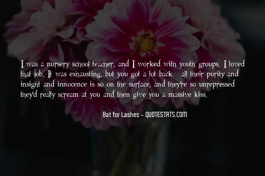 Bat For Lashes Quotes #1382772
