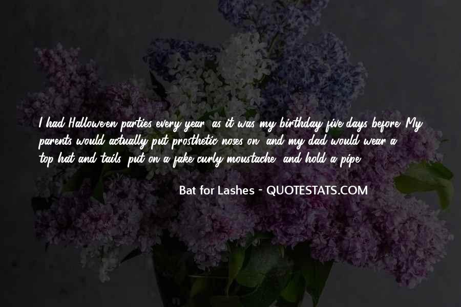 Bat For Lashes Quotes #1587374