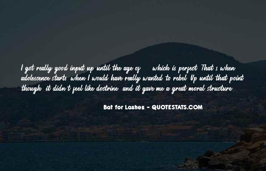 Bat For Lashes Quotes #1751222