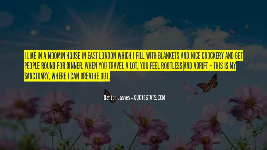 Bat For Lashes Quotes #1764519