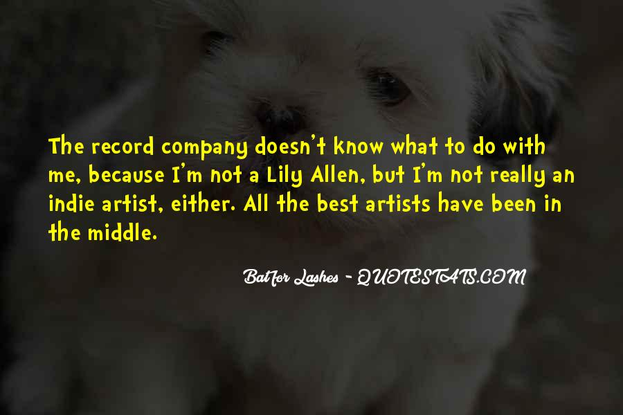 Bat For Lashes Quotes #368307