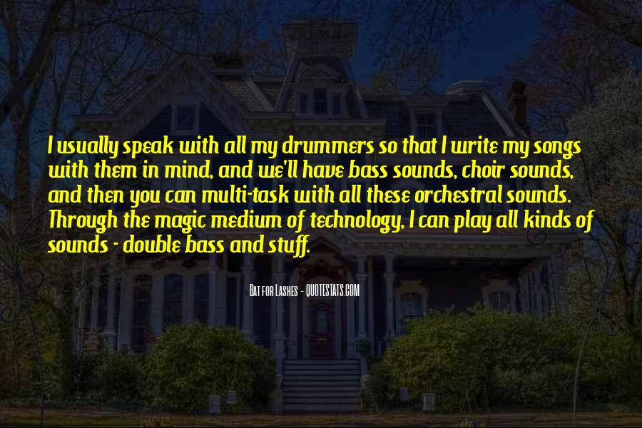 Bat For Lashes Quotes #538987