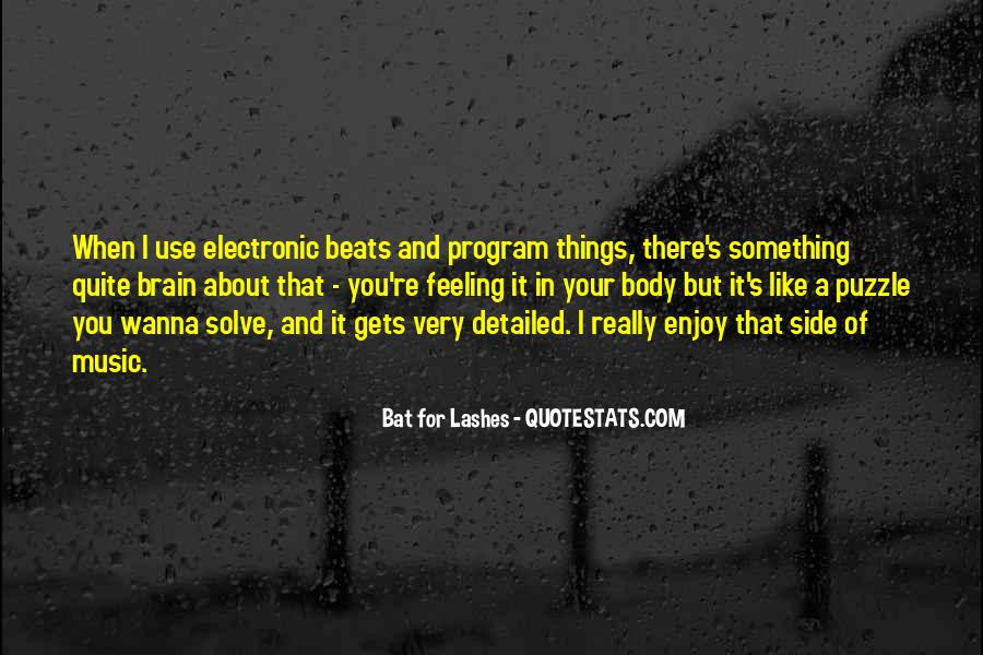 Bat For Lashes Quotes #670403