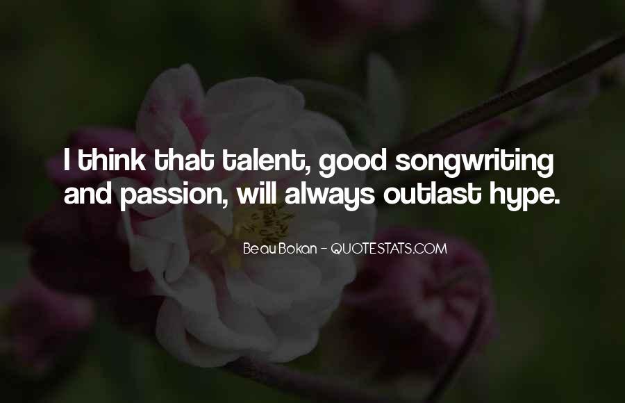 Beau Bokan Quotes #960602