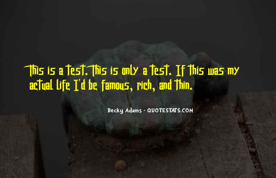 Becky Adams Quotes #1783402