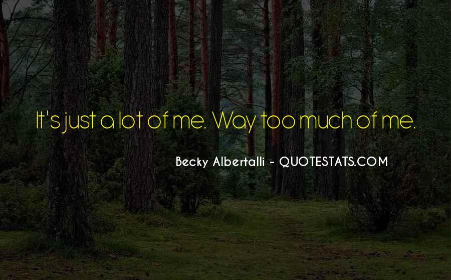 Becky Albertalli Quotes #1013462
