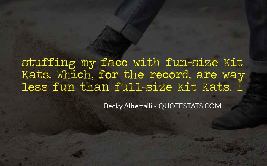 Becky Albertalli Quotes #1341496