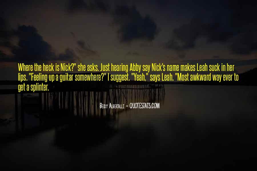 Becky Albertalli Quotes #1616842