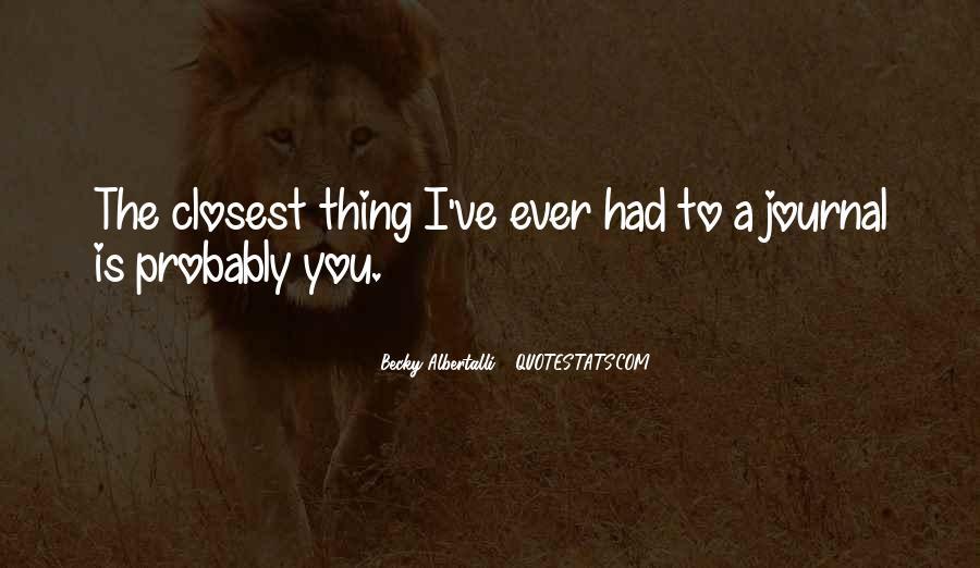 Becky Albertalli Quotes #399489