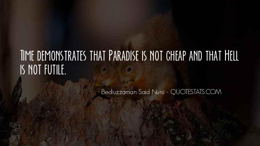 Bediuzzaman Said Nursi Quotes #1549543