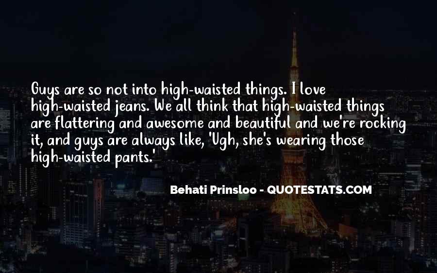 Behati Prinsloo Quotes #1096246