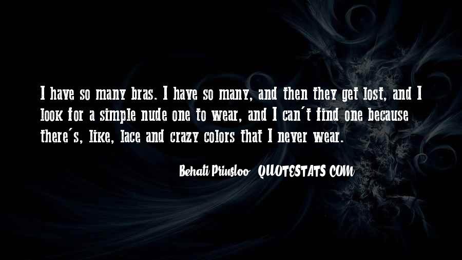 Behati Prinsloo Quotes #1309860