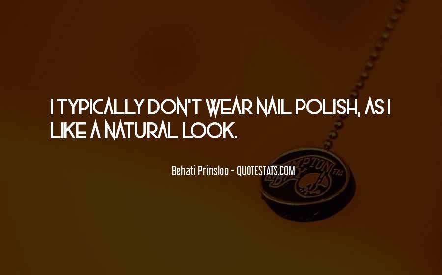 Behati Prinsloo Quotes #1400216