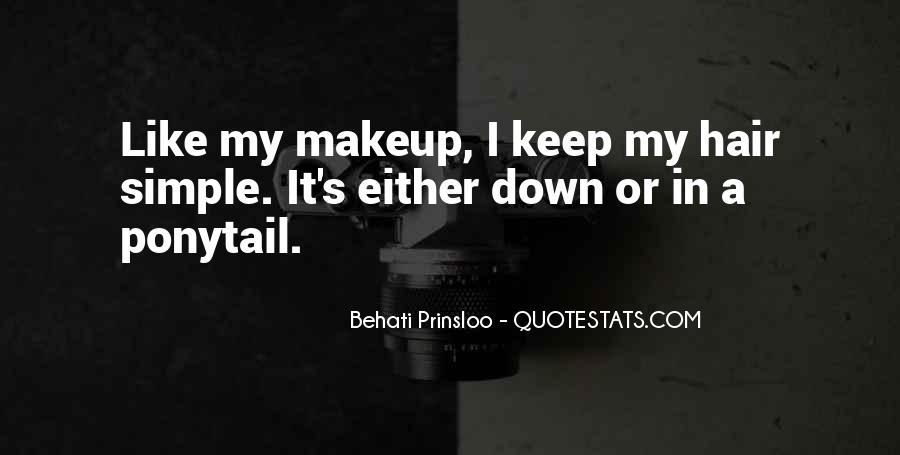 Behati Prinsloo Quotes #1615946