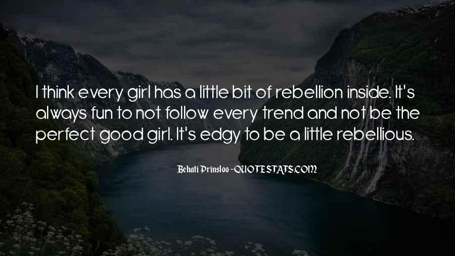 Behati Prinsloo Quotes #1677208