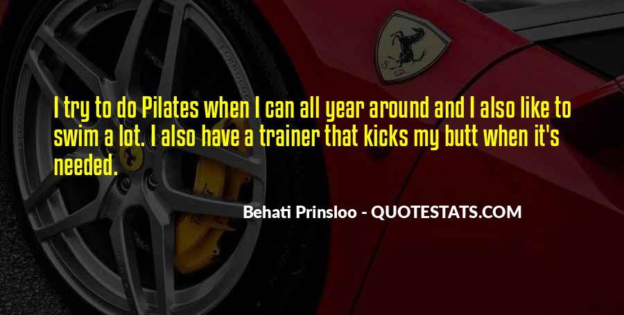 Behati Prinsloo Quotes #1782109