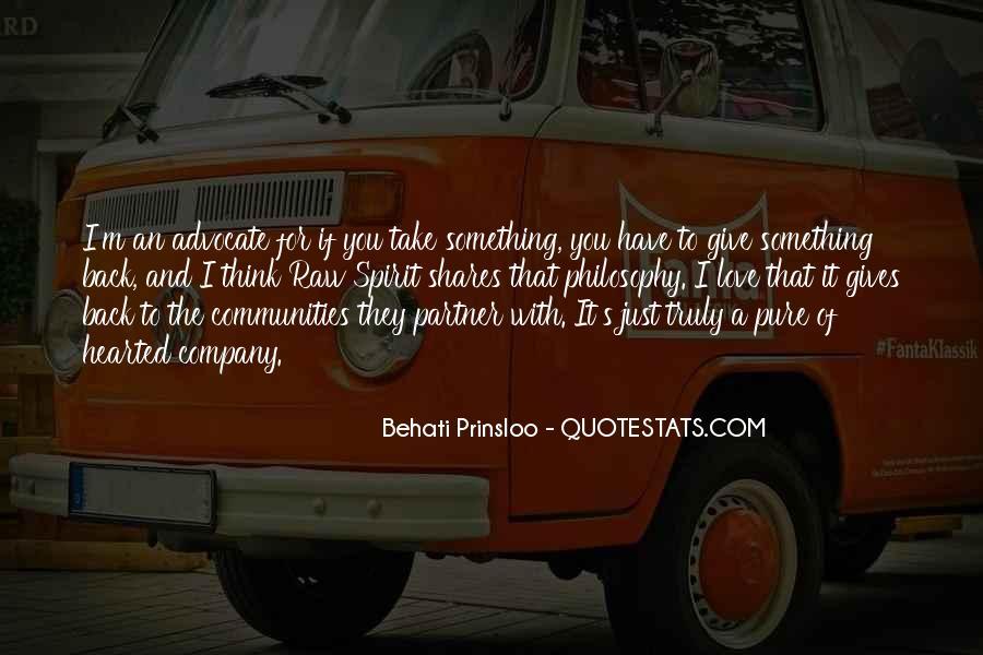 Behati Prinsloo Quotes #376868