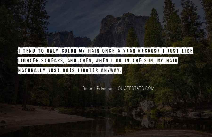 Behati Prinsloo Quotes #430802