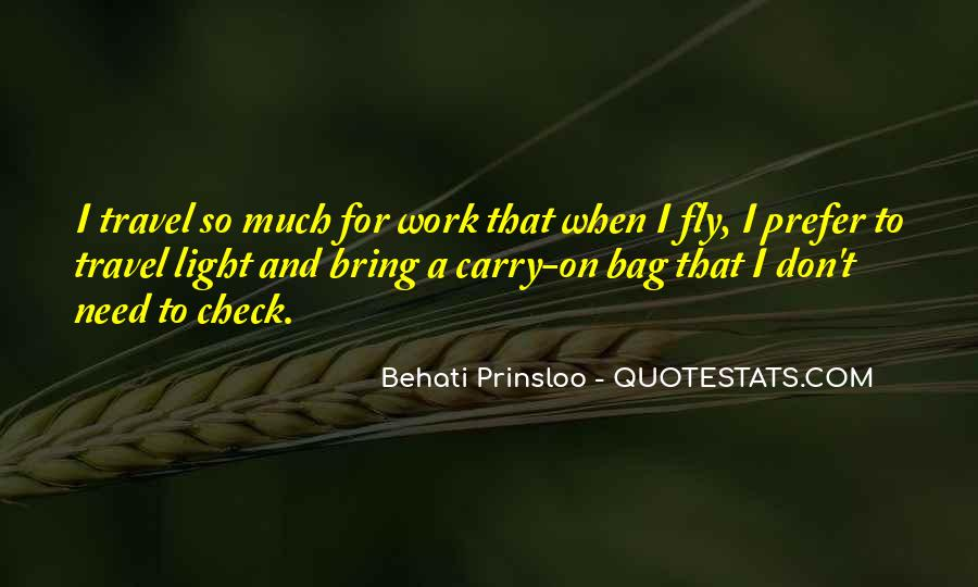 Behati Prinsloo Quotes #680697