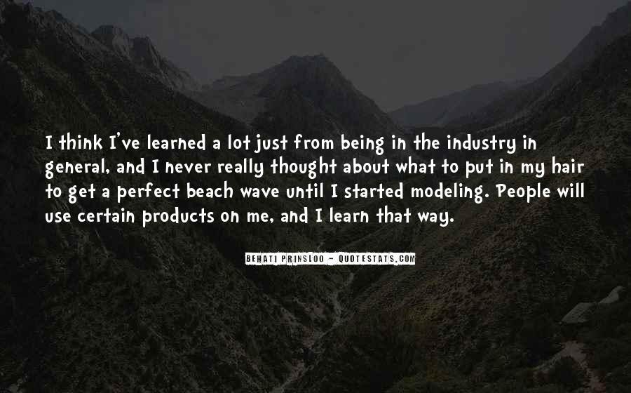Behati Prinsloo Quotes #949228