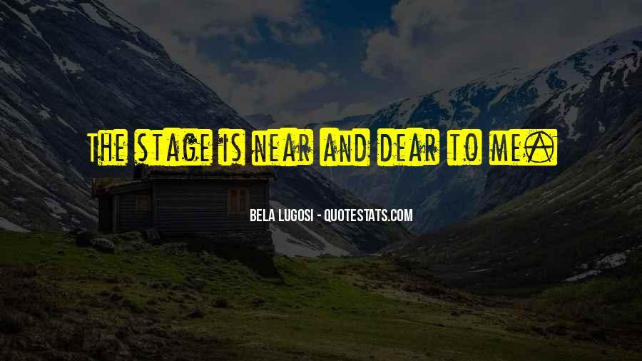 Bela Lugosi Quotes #1086257