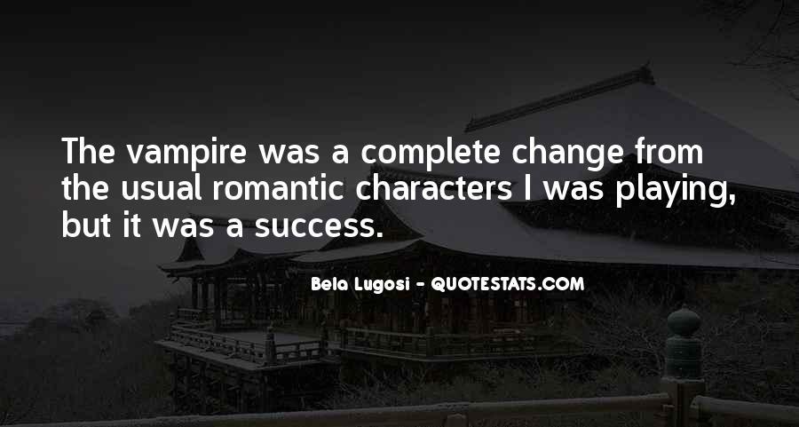 Bela Lugosi Quotes #116024