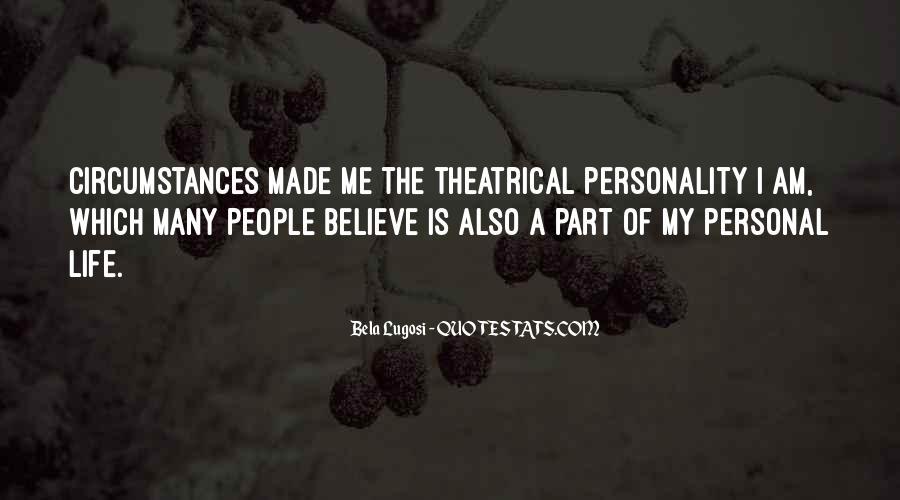 Bela Lugosi Quotes #1234288
