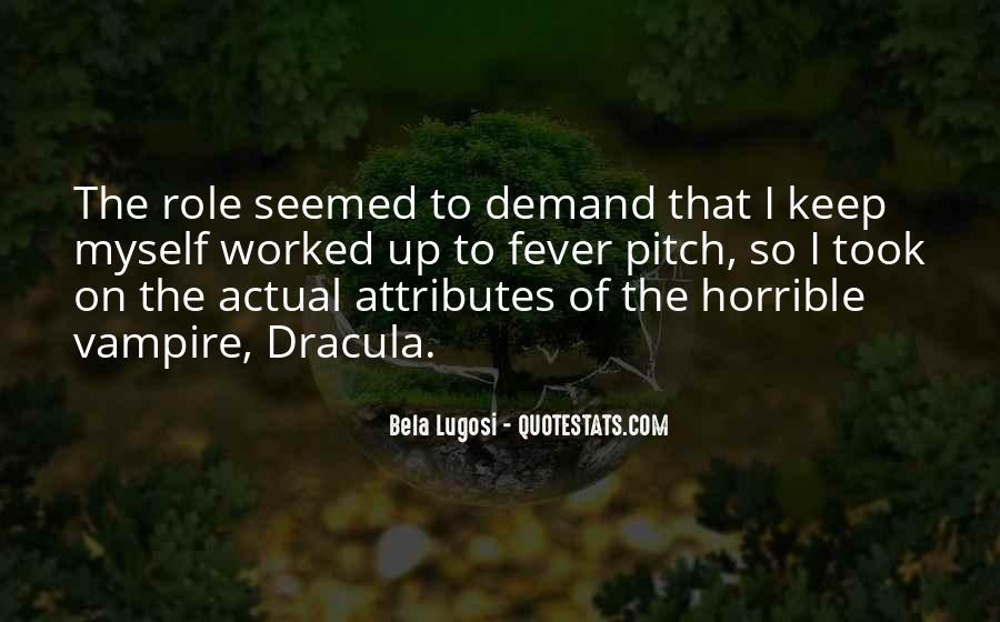 Bela Lugosi Quotes #1421890