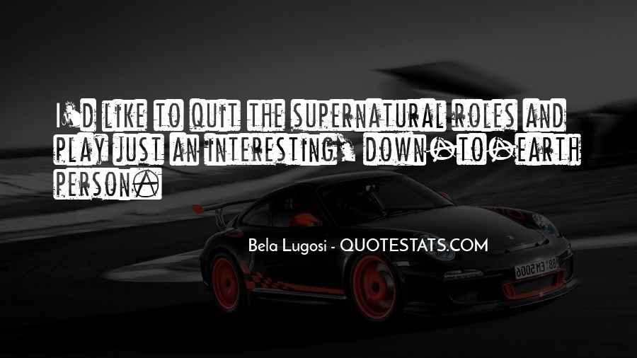 Bela Lugosi Quotes #1471888