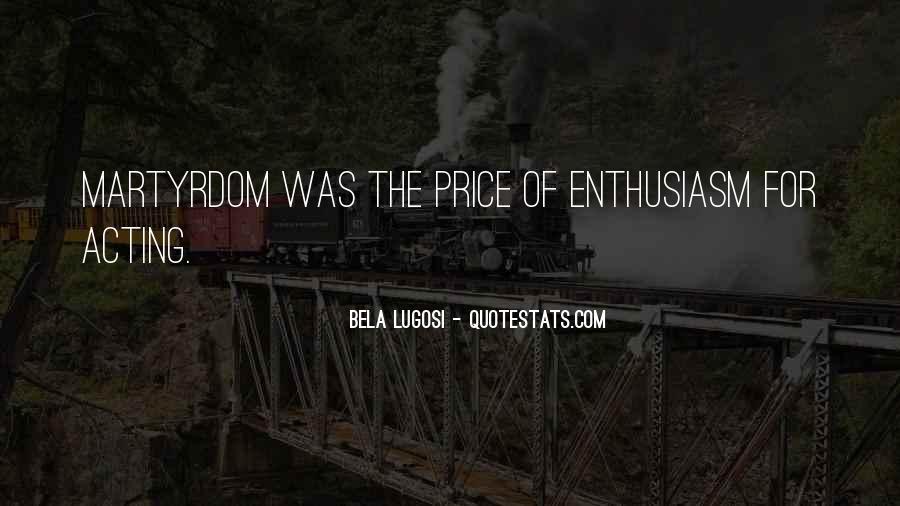 Bela Lugosi Quotes #1495210