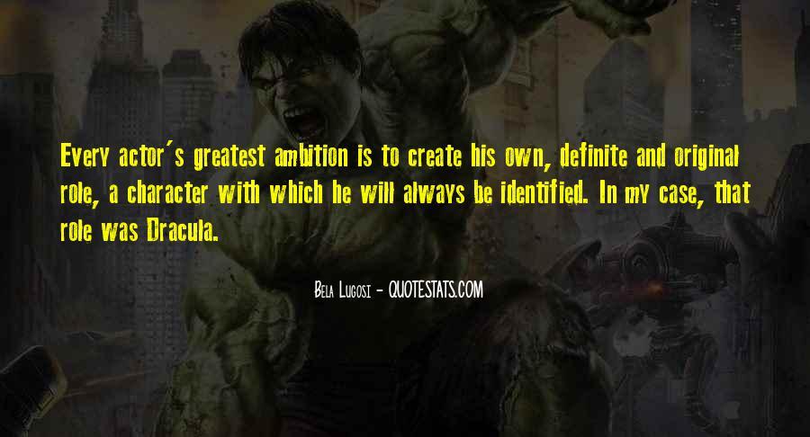 Bela Lugosi Quotes #154359