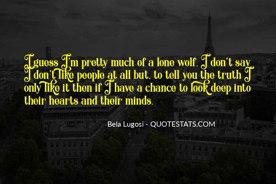 Bela Lugosi Quotes #1625455
