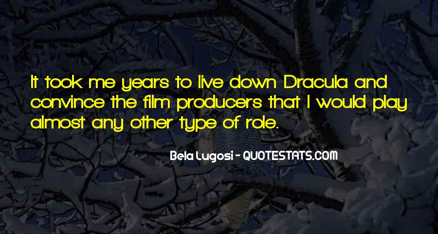 Bela Lugosi Quotes #1794293