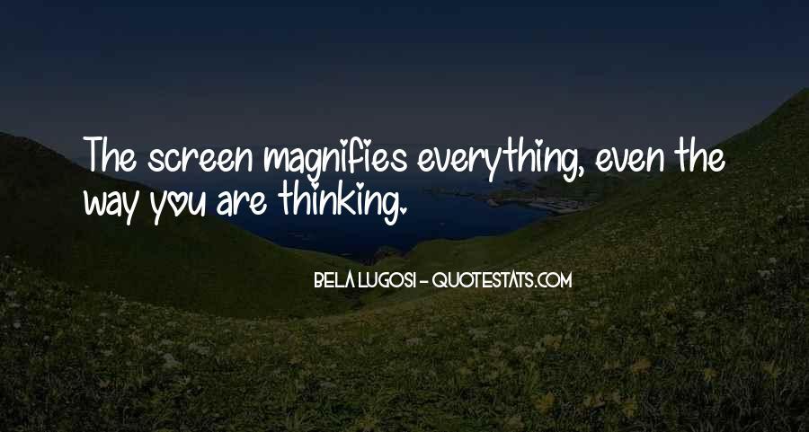Bela Lugosi Quotes #209066