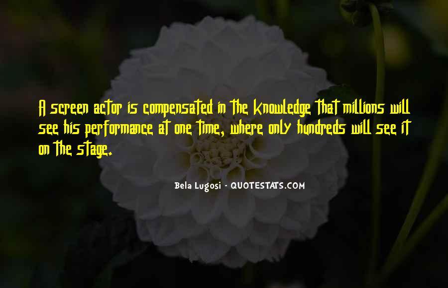 Bela Lugosi Quotes #598957