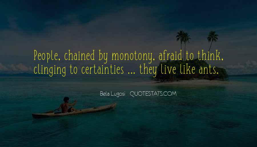 Bela Lugosi Quotes #669263